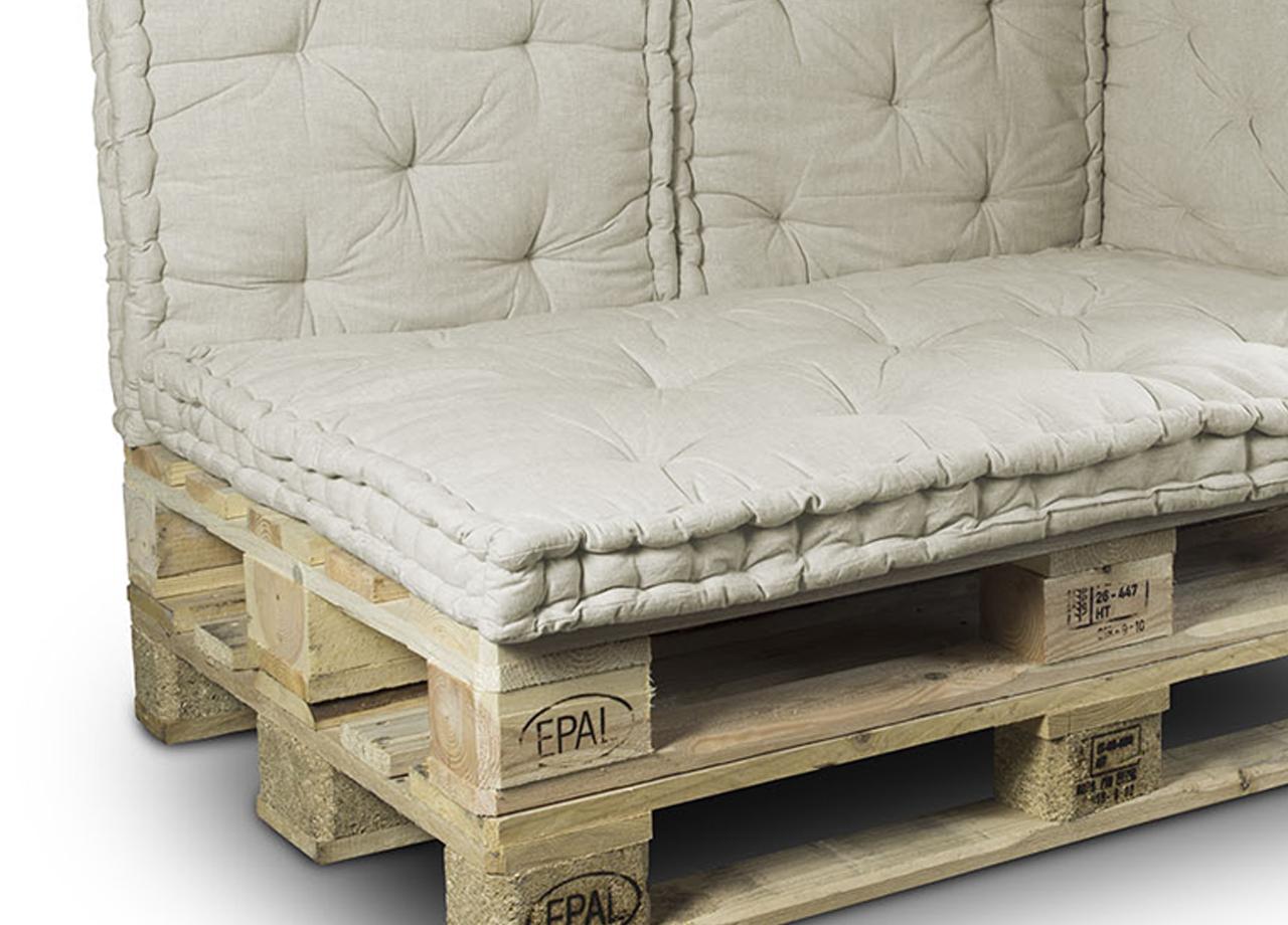 Cuscini Beige Per Divano dettagli su cuscino mattonella per seduta-schienale per divani bancale  80x120