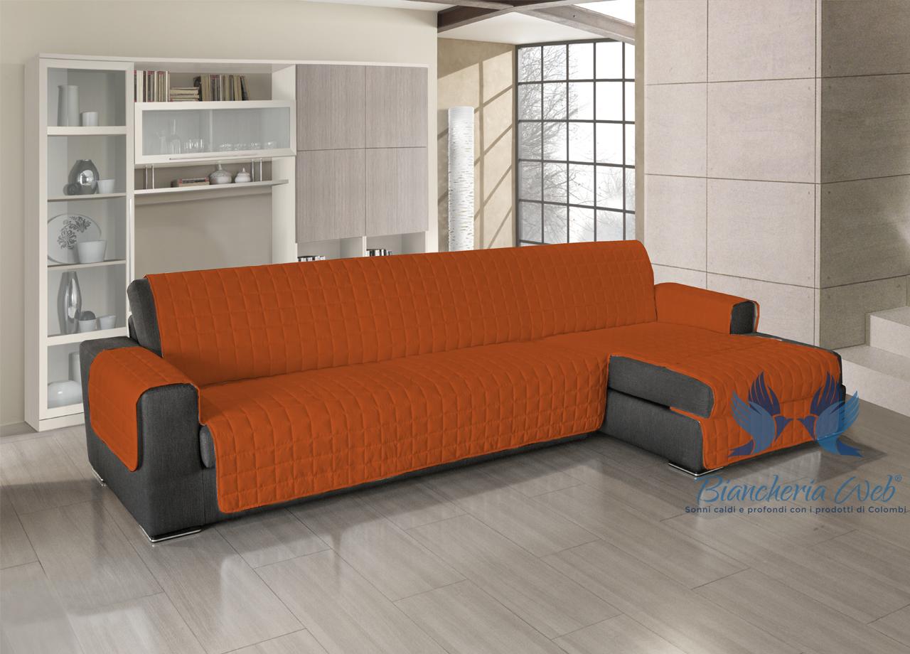 Copridivano trapuntato per divani con penisola in tinta unita ebay - Copridivano per divano con penisola ...