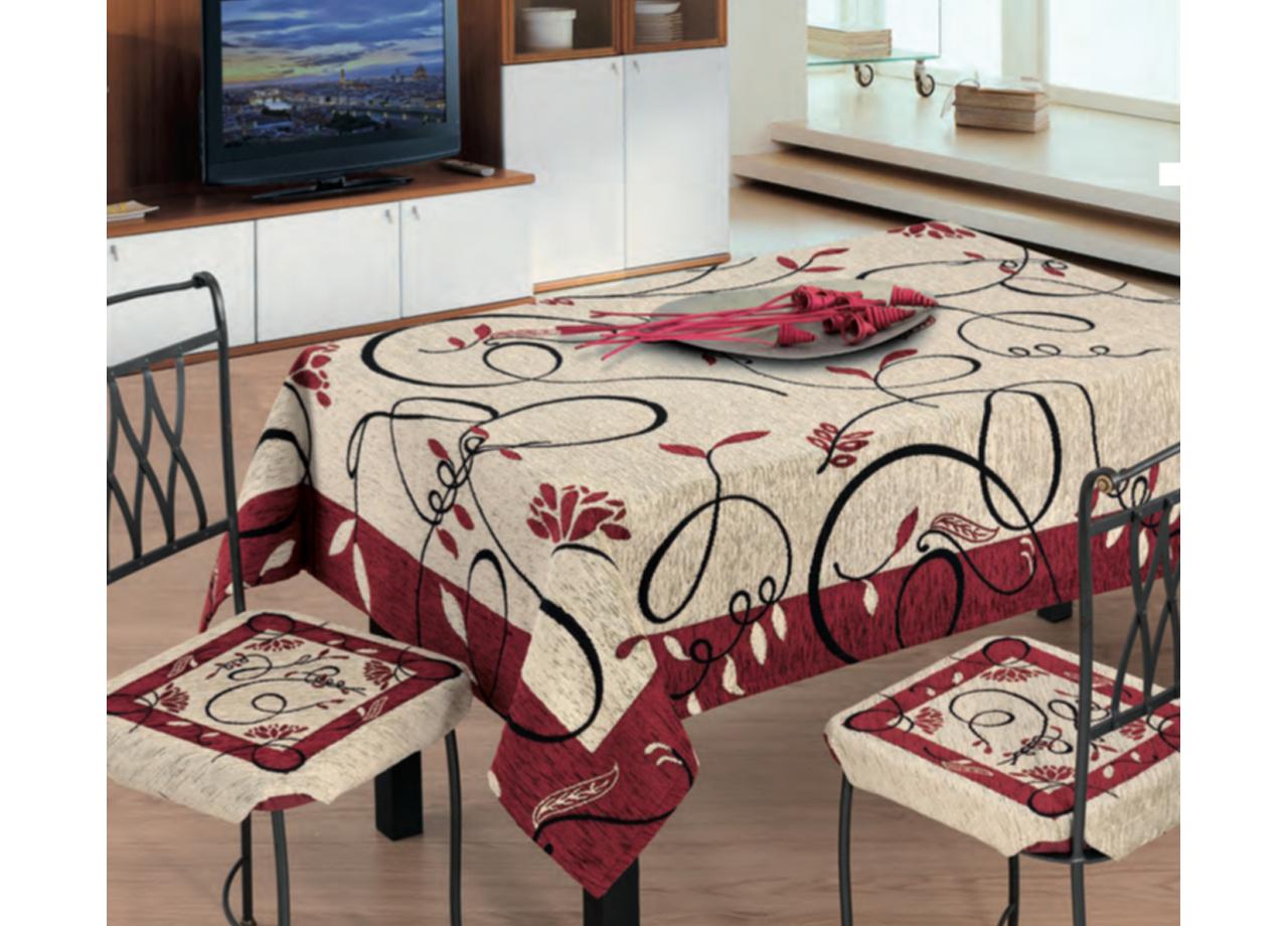 Copritavolo Salotto/Cucina Cinigliato Lavorazione Jacquard ...